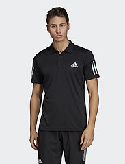 adidas Performance - 3-Stripes Club Polo Shirt - kurzärmelig - black - 0