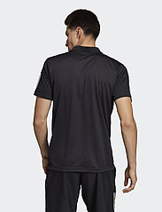 adidas Performance - 3-Stripes Club Polo Shirt - kurzärmelig - black - 5