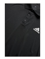 adidas Performance - 3-Stripes Club Polo Shirt - kurzärmelig - black - 6