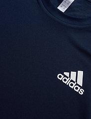 adidas Performance - 3-Stripes Club Tee - sportoberteile - navy - 7