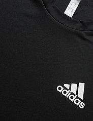 adidas Performance - 3-Stripes Club Tee - sportoberteile - black - 6