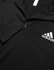 adidas Performance - Club Mid-Layer Top - basic-sweatshirts - black - 4