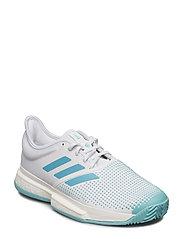 on sale 0f8cc 0b913 SOLECOURT BOOST X PARLEY M - WHITE. NEW. adidas Tennis