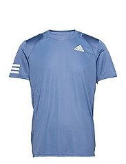 CLUB 3-STRIPE T-SHIRT - BLUE