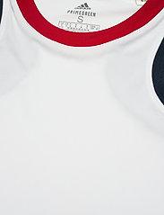 adidas Performance - Club Tennis Tee - t-shirts - white - 5