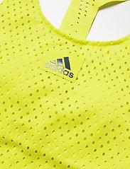 adidas Performance - HEAT.RDY Primeblue Tennis Y-Tank Top - linnen - yellow - 4