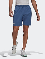 adidas Performance - CLUB STRETCH WOVEN SHORTS - trainingsshorts - blue - 0