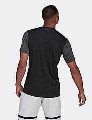 adidas Performance - CLUB T-SHIRT - t-shirts - black - 3