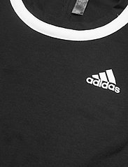 adidas Performance - Club Knotted Tennis Tank Top - linnen - black - 3