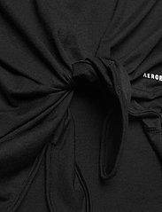 adidas Performance - Club Knotted Tennis Tank Top - linnen - black - 4