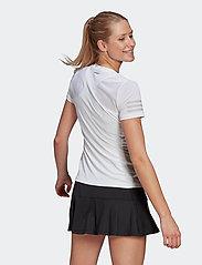 adidas Performance - Club Tennis Tee - t-shirts - white - 4