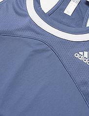 adidas Performance - Club Tennis Tank Top - linnen - blue - 3