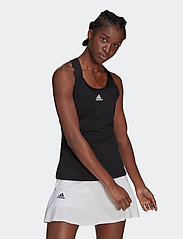 adidas Performance - Tennis Y-Tank Top - linnen - black - 0
