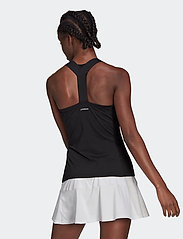 adidas Performance - Tennis Y-Tank Top - linnen - black - 3