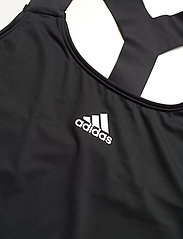 adidas Performance - Tennis Y-Tank Top - linnen - black - 3