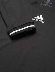 adidas Performance - Tennis Freelift Long Sleeve Tee - black - 4