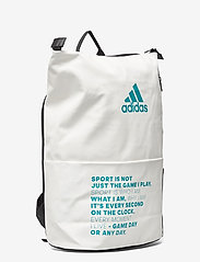adidas Performance - Backpack MULTIGAME - racketsporttassen - white - 2