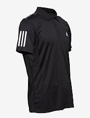 adidas Performance - 3-Stripes Club Polo Shirt - kurzärmelig - black - 4