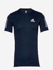 adidas Performance - 3-Stripes Club Tee - sportoberteile - navy - 1
