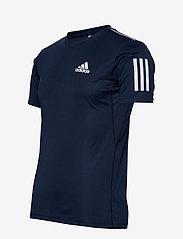 adidas Performance - 3-Stripes Club Tee - sportoberteile - navy - 3