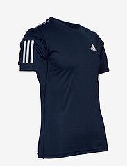 adidas Performance - 3-Stripes Club Tee - sportoberteile - navy - 5