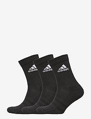 adidas Performance - Cushioned Crew Socks 3 Pairs - skarpetki - black - 0