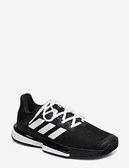 adidas Tennis - SOLEMATCH BOUNCE W - tennisschuhe - black - 0