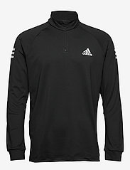 adidas Performance - Club Mid-Layer Top - basic-sweatshirts - black - 1