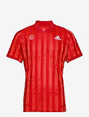 adidas Performance - FREELIFT TEE ENGINEERED AERORE - t-shirts - 000/scarlet - 1