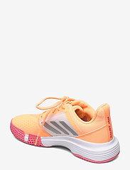 adidas Performance - CourtJam Bounce Shoes - ketsjersportsko - orange - 2