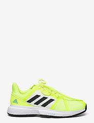 adidas Performance - COURTJAM BOUNCE M - ketsjersportsko - yellow - 1