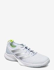 adidas Performance - Court Control Tennis Shoes - racketsportschoenen - grey - 0