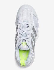 adidas Performance - Court Control Tennis Shoes - racketsportschoenen - grey - 3