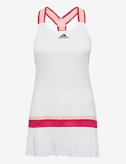 adidas Performance - TENNIS Y-DRESS HEAT.RDY - sportklänningar - white - 1