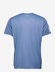 adidas Performance - CLUB 3-STRIPE T-SHIRT - t-shirts - blue - 2