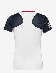 adidas Performance - Club Tennis Tee - t-shirts - white - 2