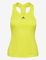 adidas Performance - HEAT.RDY Primeblue Tennis Y-Tank Top - linnen - yellow - 1