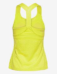 adidas Performance - HEAT.RDY Primeblue Tennis Y-Tank Top - linnen - yellow - 2