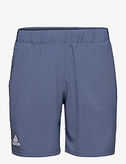 adidas Performance - CLUB STRETCH WOVEN SHORTS - trainingsshorts - blue - 1