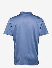 adidas Performance - CLUB RIB POLO SHIRT - kortærmede - blue - 2