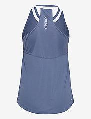 adidas Performance - Club Tennis Tank Top - linnen - blue - 2