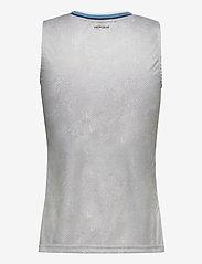 adidas Performance - Tennis Primeblue Printed Match Tank Top - linnen - white - 2
