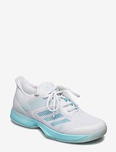 adizero ubersonic 3w x Parley - tenniskengät - white