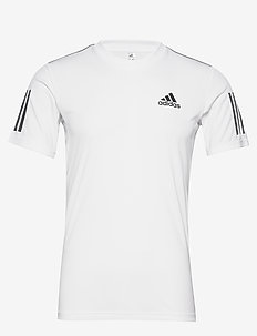 CLUB 3 STRIPES TEE M - WHITE