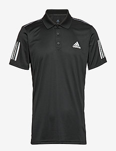 CLUB 3 STRIPES POLO M - BLACK
