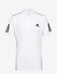 CLUB 3 STRIPES POLO M - WHITE