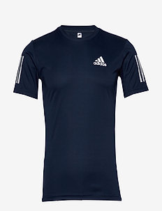 3-Stripes Club Tee - topy sportowe - navy