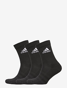 Cushioned Crew Socks 3 Pairs - skarpetki - black