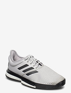 SOLECOURT M X PRIMEBLUE - buty do tenisa - grey