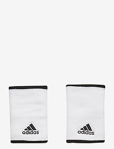 TENNIS WRISTBAND LARGE - equipement - white/black/black